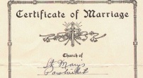 Mom,Dad,Marriage Cert